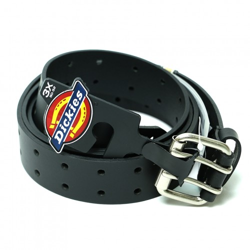 Two Hole Bridle Jean Belt - Black