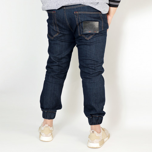 Stretch Denim Jogger - Indigo Origin