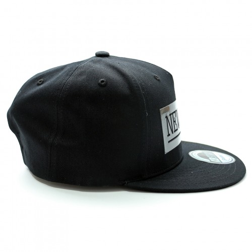 New York Snapback Cap - Black