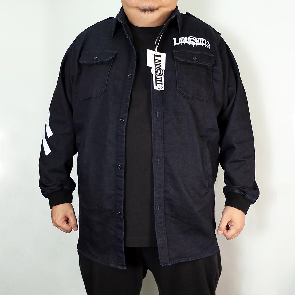 DLLM Denim Deck Jacket - Indigo
