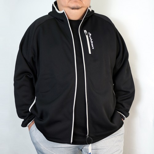 Bonding Fleece Jacket - Black