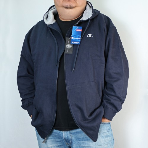 Full Zip L/S Fleece Jacket - Navy