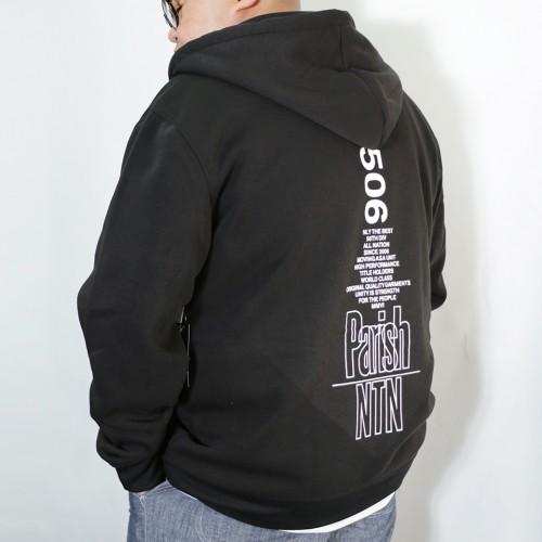 Classic Full Zip Hoodie - Black