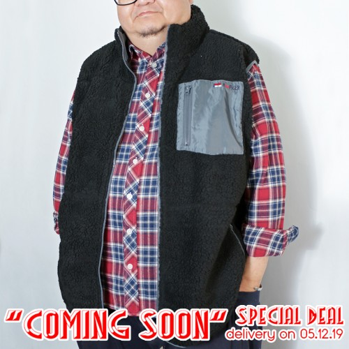 Bore Fleece Pocket Vest - Black ** Coming Soon Special **