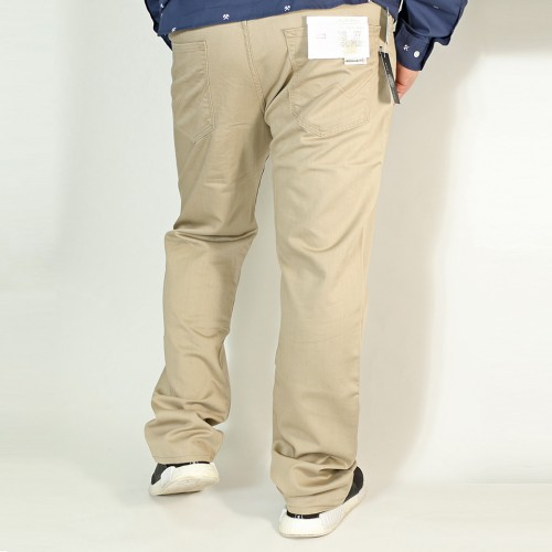 403麻混 Cool Flex Denim - Khaki
