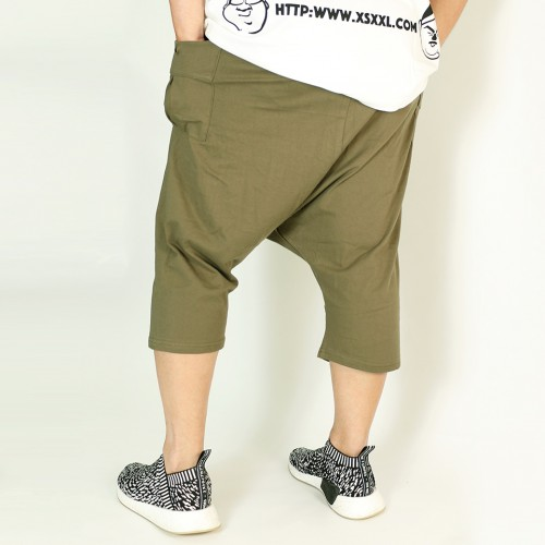 Easy Comfort Sarouel Shorts - Olive
