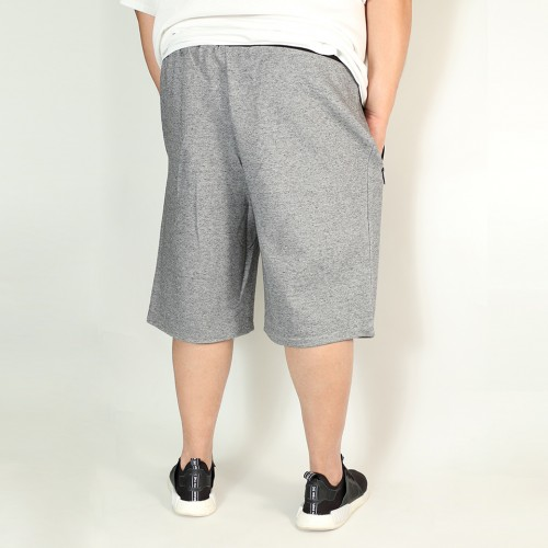 Pockets Simple Shorts - Heather Grey