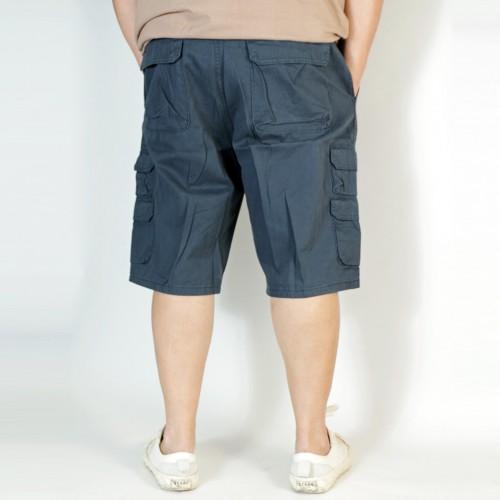 Premium Cargo Shorts - Navy