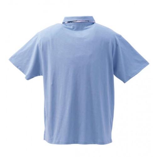 Slab Tenjiku Polo Shirt - Blue