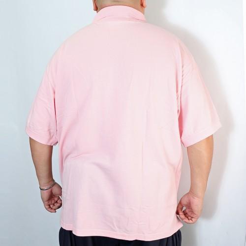 Kanoko Deodorant Tape Polo Shirt - Pink