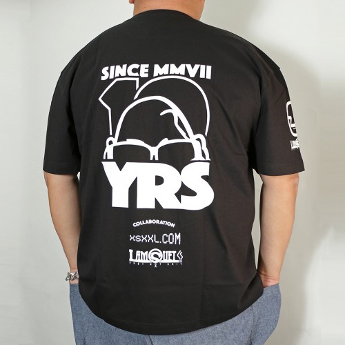 10Y's Limited Glassman Tee - Black