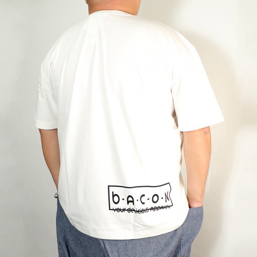 B. Badge Tee - White
