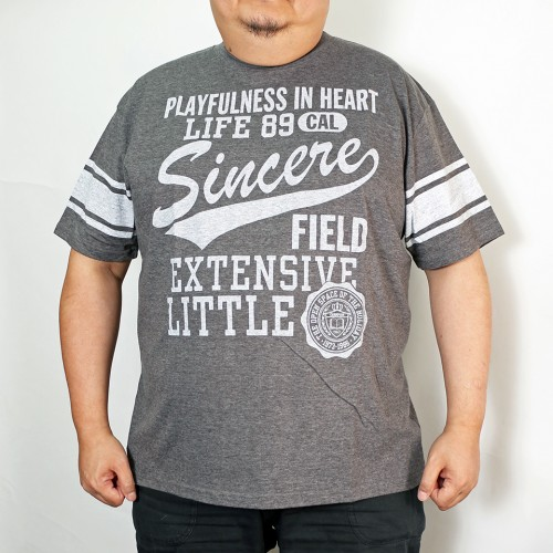 Playfulness In Heart Tee - Charcoal