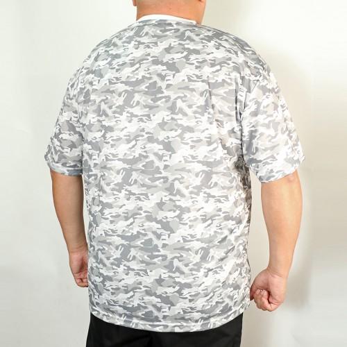 Dry Mesh Camouflage Tee - White