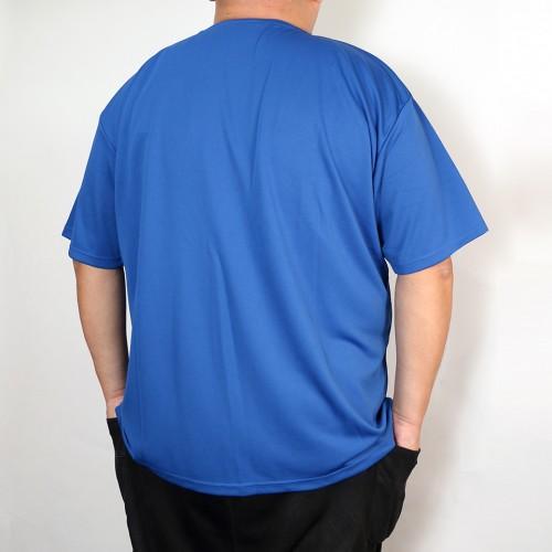 Classic Logo Dry-Mesh Tee - Blue