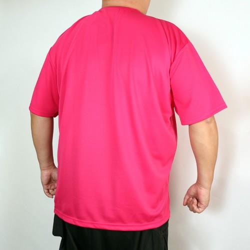 Classic Logo Dry-Mesh Tee - Pink