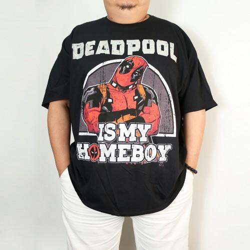 Deadpool Is My Homeboy Tee - Black