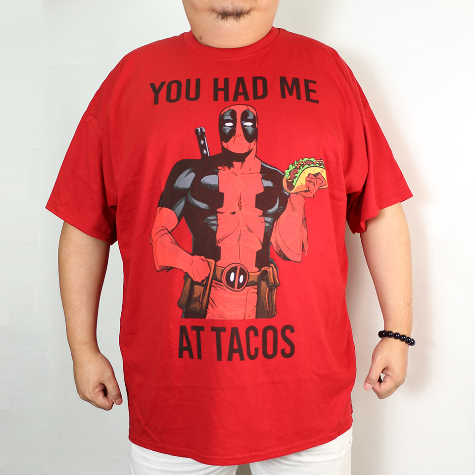 You Had Deadpool At Tacos - Red